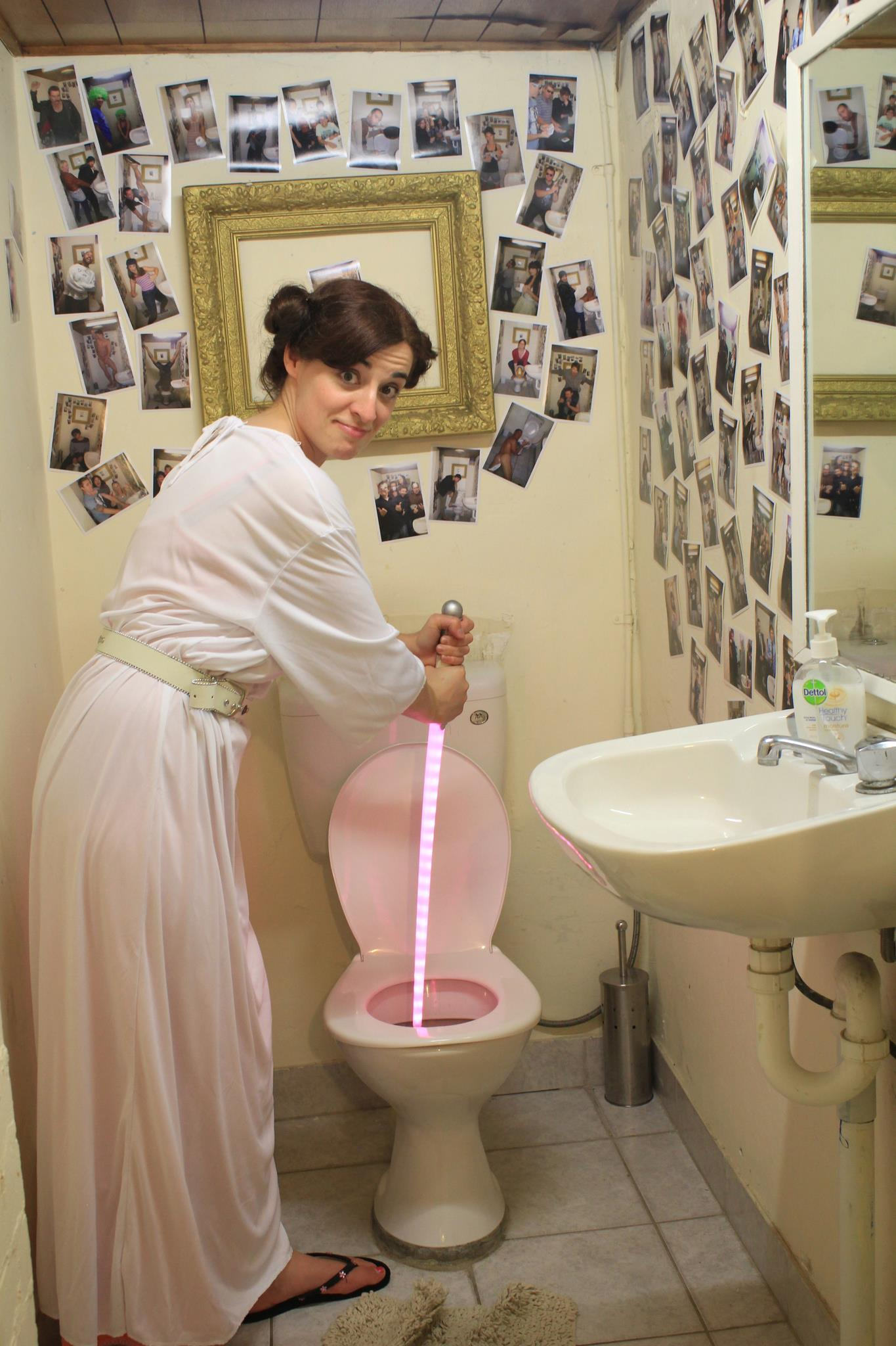 Liz Lemon as Princess Leia
