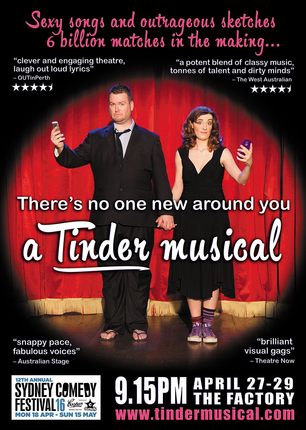 There's No One New Around You: A Tinder Musical at Sydney Comedy Festival