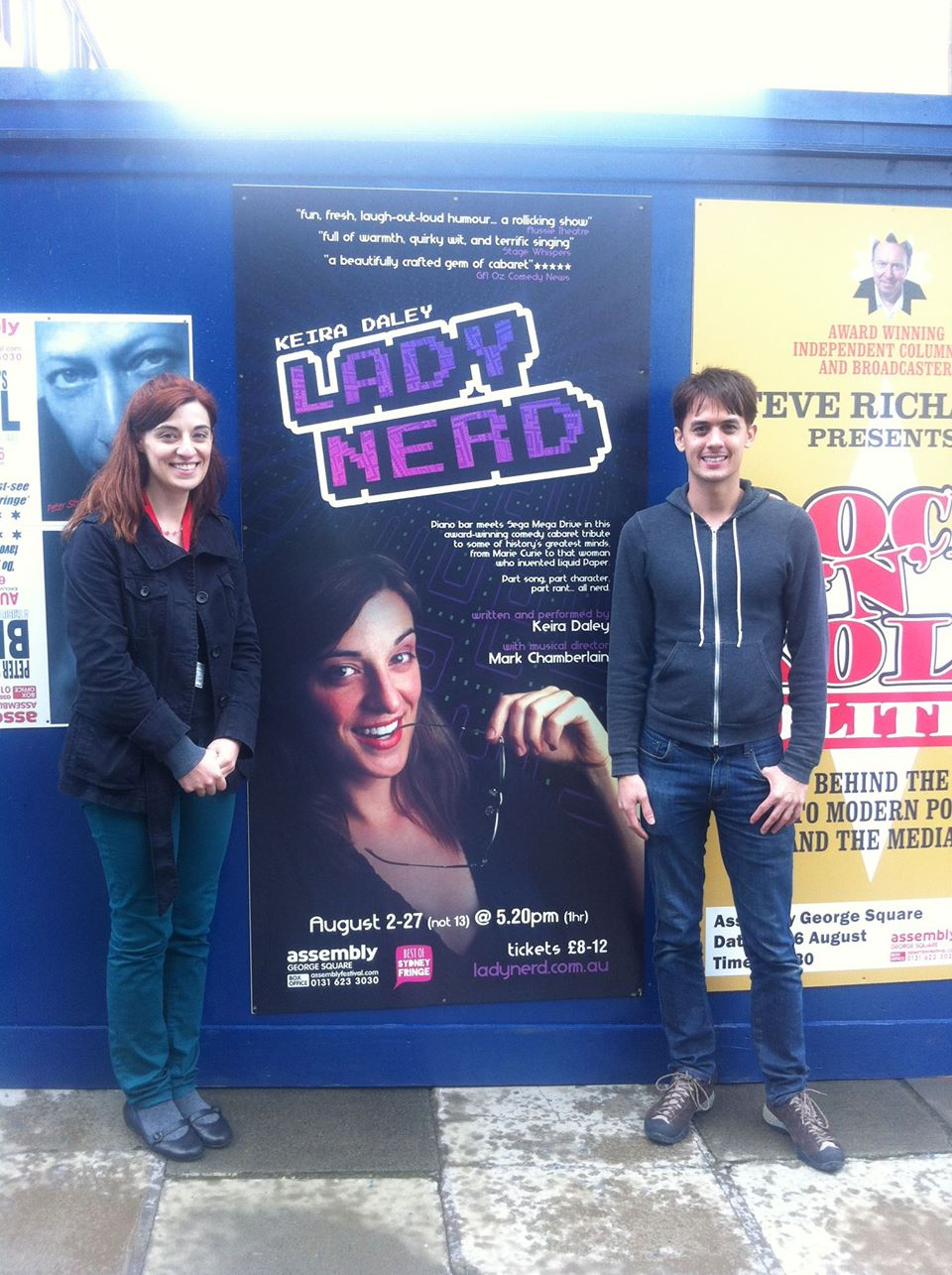 LadyNerd in Edinburgh 2012
